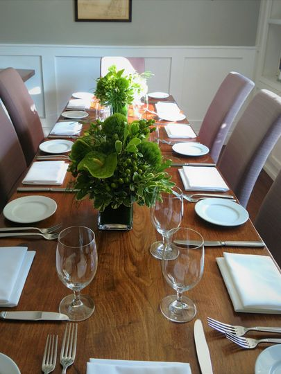 Private Dining Room           10 Guests