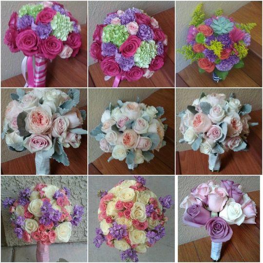 Pink & Blush Bouquets #blushbouquets