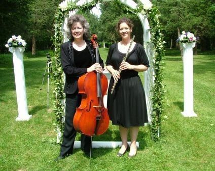 1st Choice Music Services - Flute & Cello Duo  Allerton Park Wedding