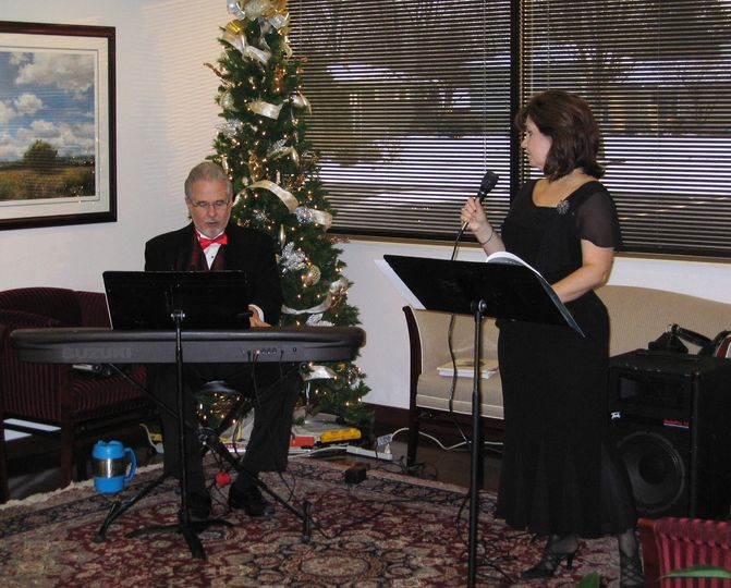 1st Choice Music Services Vocal Jazz Duo Busey Bank After Hours Party