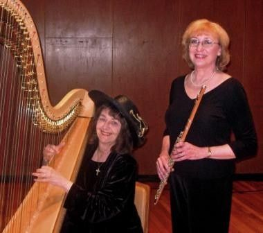 1st Choice Music Services Flute & Harp Duo Krannert Center for the Performing Arts, Urbana, IL