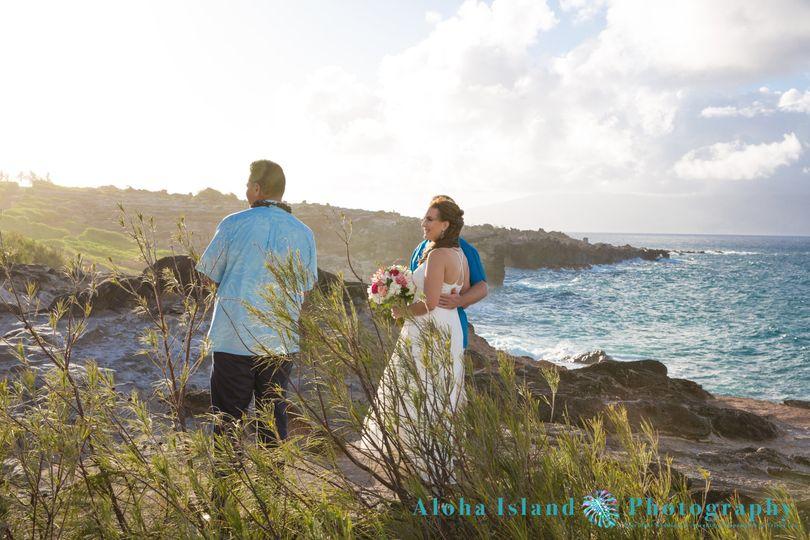 Maui Cliffside Wedding