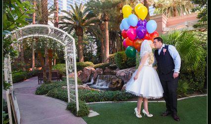 Flamingo Las Vegas Wedding Garden Chapel 2