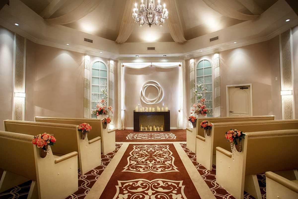 Flamingo Las Vegas Wedding Garden Chapel