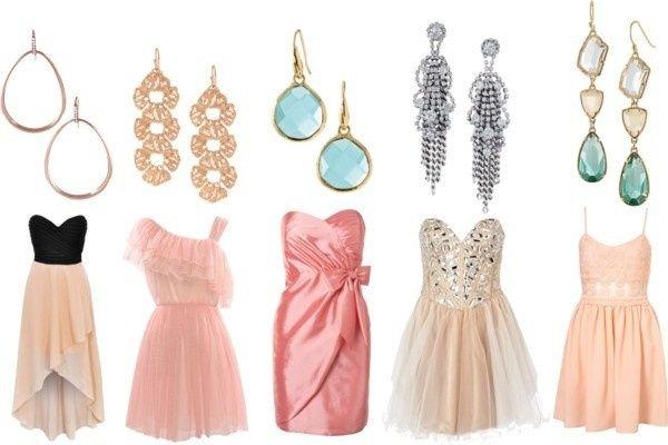blush earring