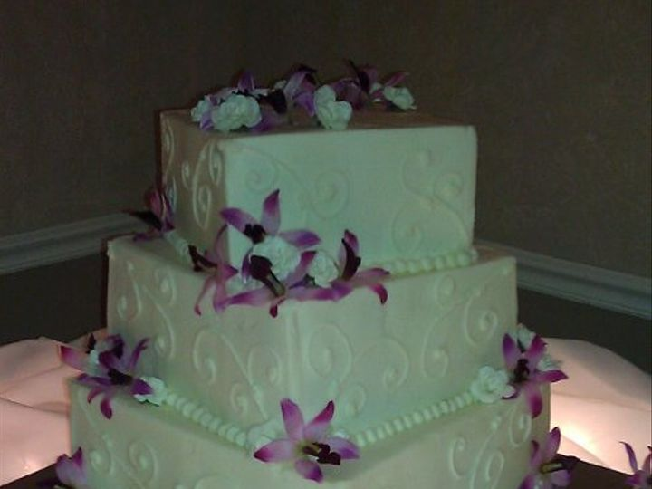 Tmx 1320856029924 Orchidwedding New Port Richey wedding cake