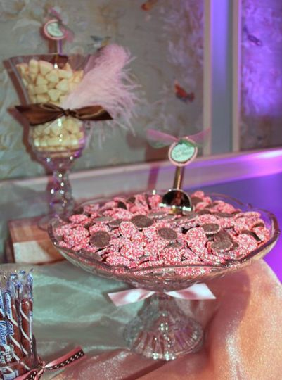 Non-Pareils are a favorite choice for candy buffets.