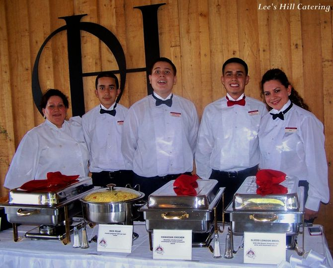 LEE'S HILL CATERING crew