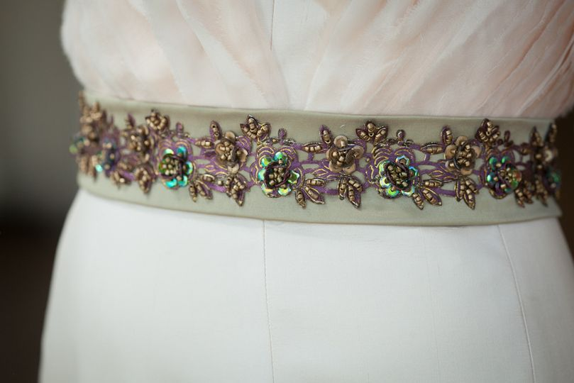 Wedding gown accessory