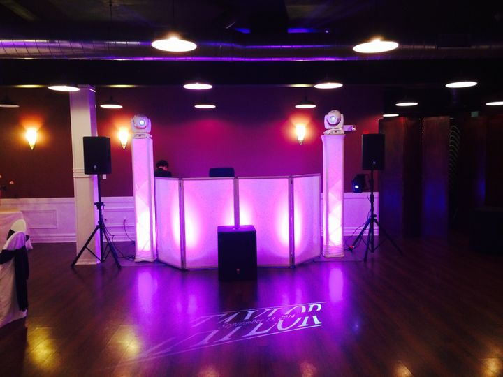 Pink DJ Booth