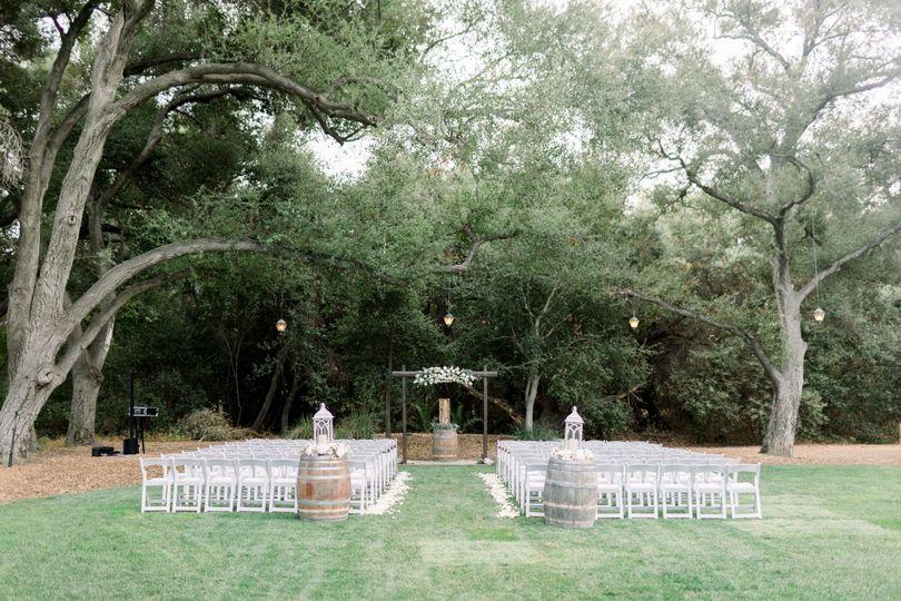 The Stone House ceremony