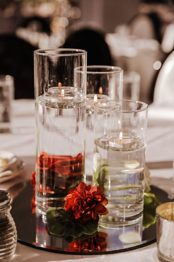 Included Centerpiece Options