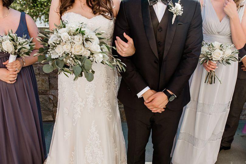 Th perfect wedding attire