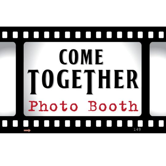 come together photo booth square on white