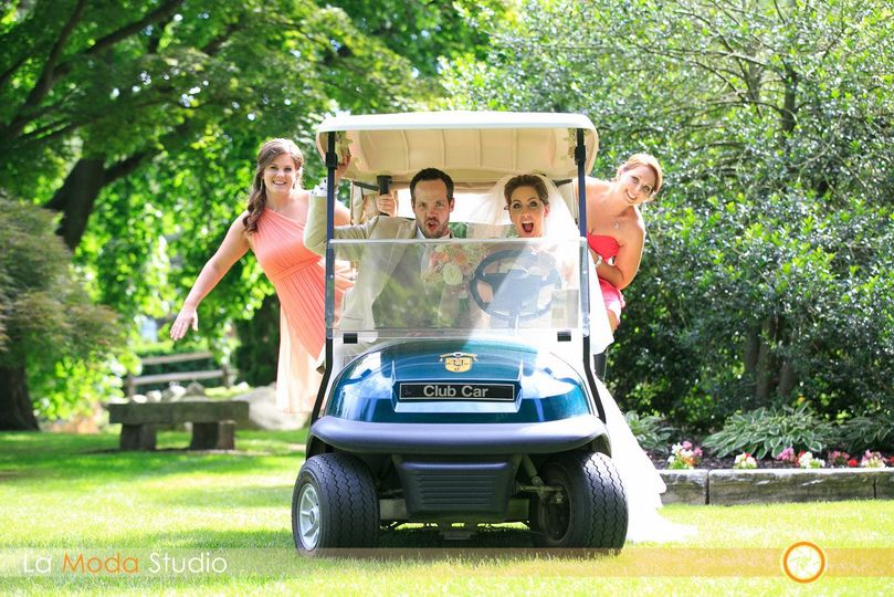 The golf cart