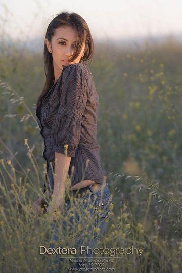 Natalia Gutierrez, modeling in Fremont, CA