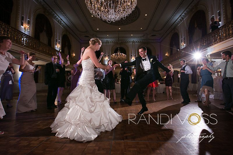 One of our Violin & DJ Package Weddings at the Omni William Penn Hotel.  Shot by Randi Voss...