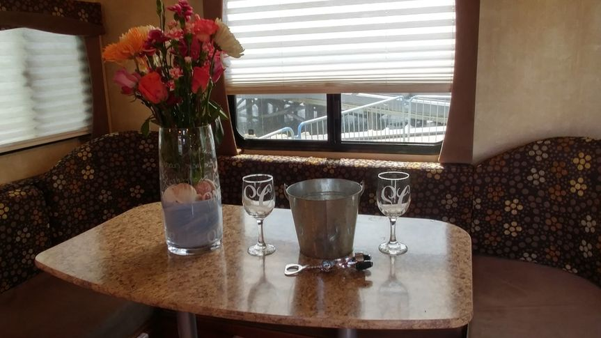 Custom vase and wine glass set made for Shelby Chong. Highly detailed work on the vase. Includes...