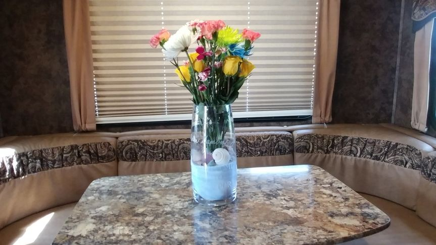Custom etched vase. Highly detailed work. This was the welcome gift in the trailer for Cheech and...