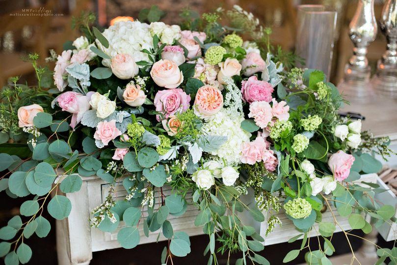 Big floral arrangement