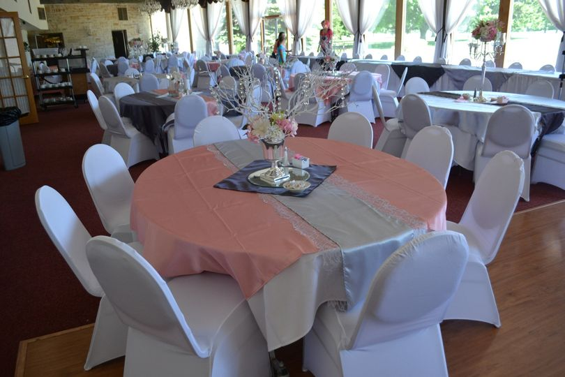 Crystal Room wedding reception