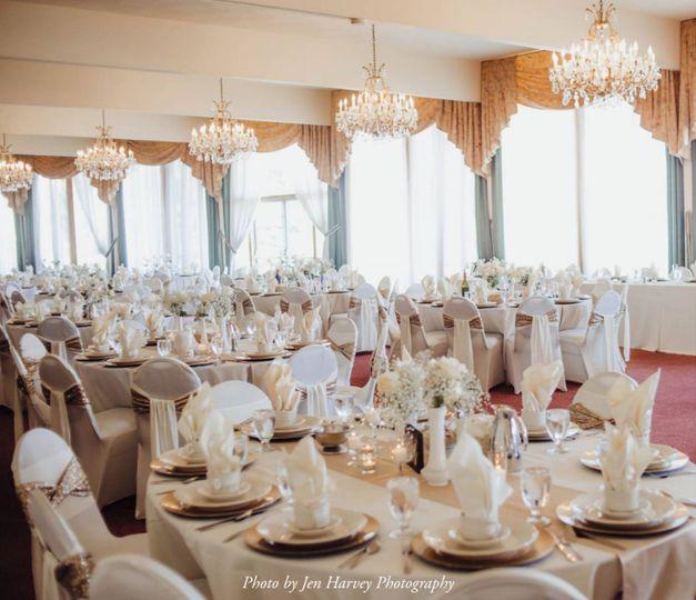 Crystal Room Wedding