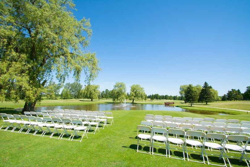 Wedding on the Greens