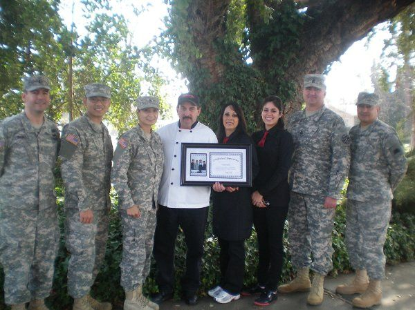 Award received from the Soldiers of 1040th Quartemaster Company. In recognition of their Annual...