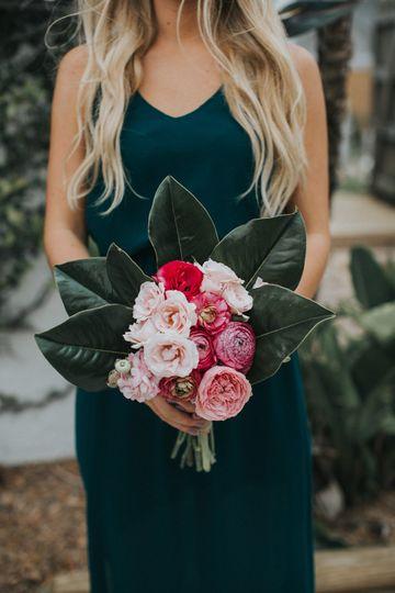 Summer bridesmaid