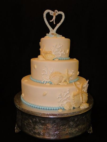 WeddingBeachcake