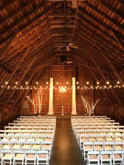 Barn Wedding Loft