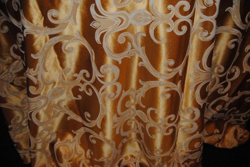 linen gold swirl
