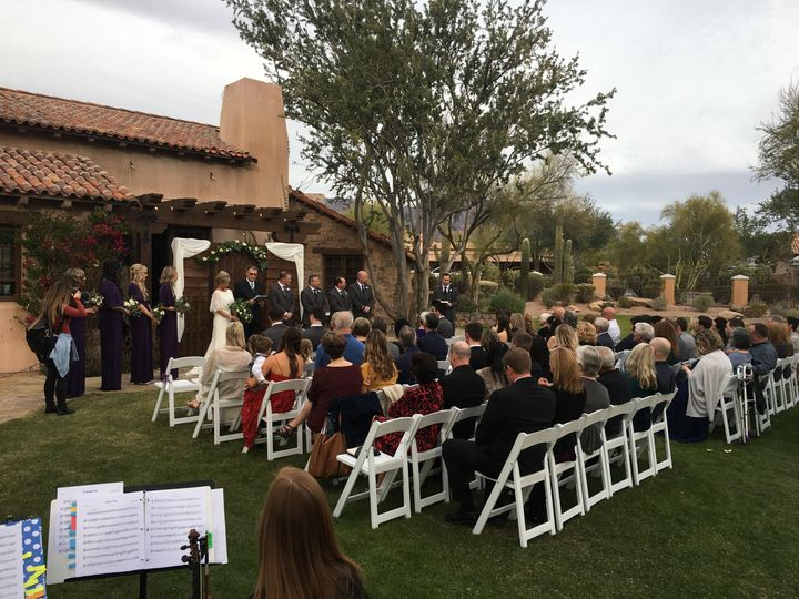 Proving ceremony sound- Superstition Ranch Golf Club