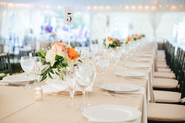 Hendry House: tent wedding