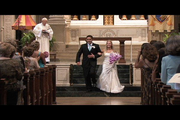 Wedding video produced by Light Beam Productions - Minnesota, at the Basilica of St. Mary in...