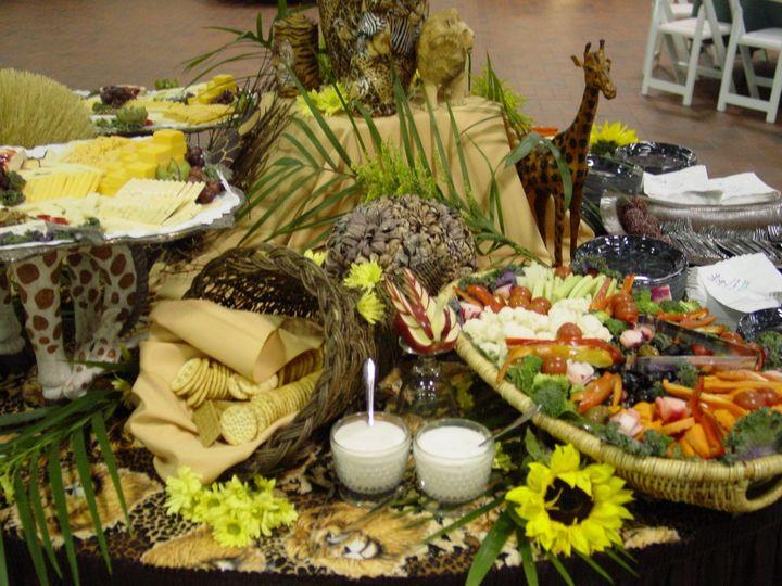 buffet presentation