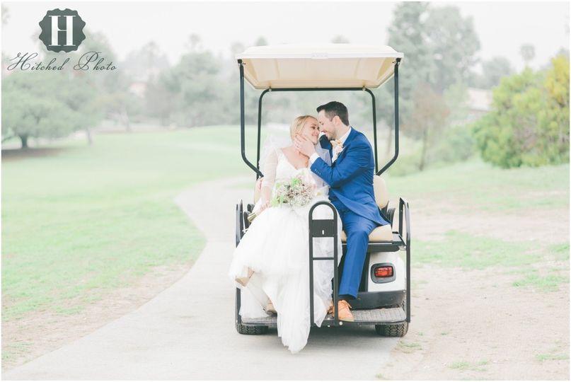 los verdes golf course wedding 77