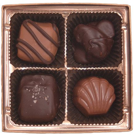 piece chocolate favor assortmen