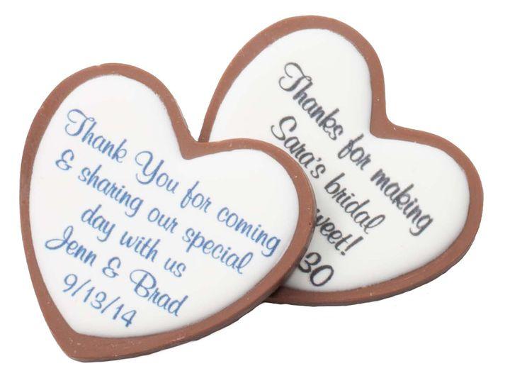 Tmx 1388500316928 Personalized Milk Chocolate Hear Bolton wedding favor