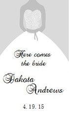 Tmx 1388500816348 Wedding Dress Gre Bolton wedding favor