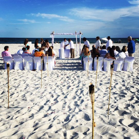 Summer and pat's beautiful beach wedding 5/28/16