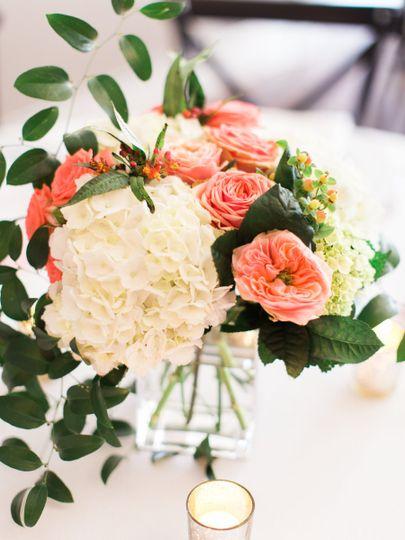 Fresh flower decorations