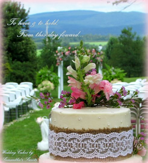 To have & to hold, from this day forward.  Wedding Cakes by Samantha's Sweets!  I'm so honored to be...