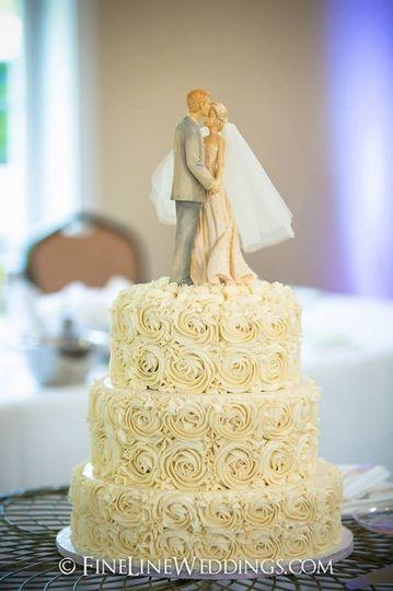 Samantha\'s Sweets - Wedding Cake - Greensburg, PA - WeddingWire