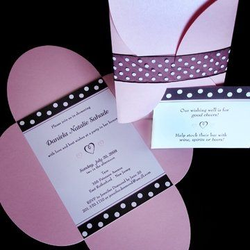 Tmx 1223583820094 W DSahade1 Saddle Brook wedding invitation