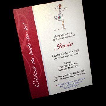 Tmx 1223583827235 W CuteBride Saddle Brook, NJ wedding invitation