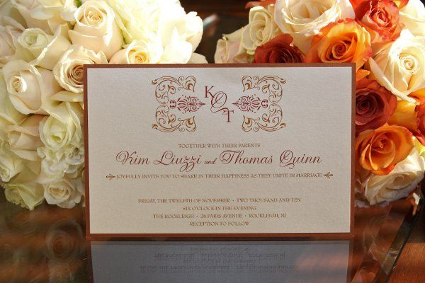 Tmx 1337868127894 IMG4165 Saddle Brook wedding invitation