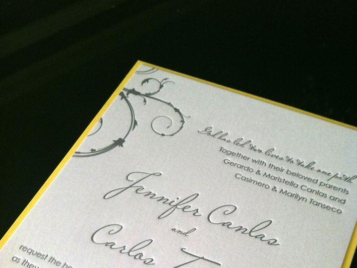 Tmx 1382538088894 Photo5 Saddle Brook, NJ wedding invitation