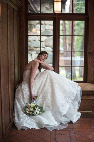 Bride by the window   Brittney Eileen Makeup Artistry