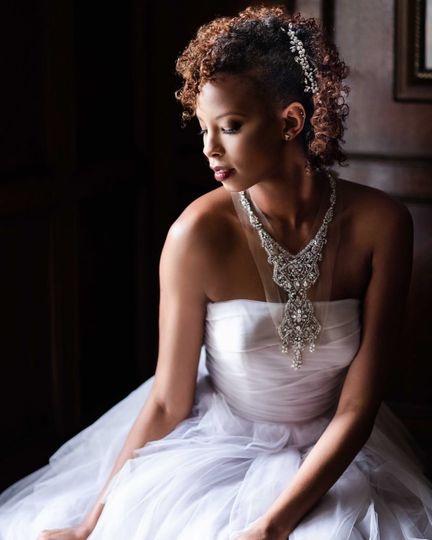 Strapless dress | Enid Arvelo Photography